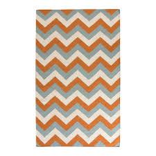 orange and grey area rug berrnour home orange area rug reviews wayfair zipcode design