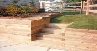Retaining Wall Stairs Design Landscape Timber Retaining Wall Pictures Ideas For Landscape