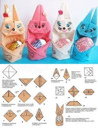 easter napkins folded napkin bunny with easter egg diy cozy home
