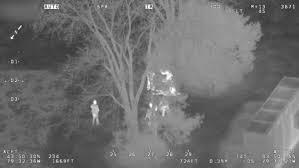 Canada S Wonderland Map by Police Use Helicopter Thermal Camera To Catch Young Candy Thieves
