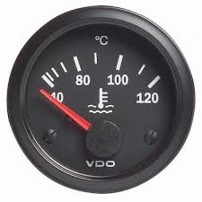 vdo water temperature gauge 40 120 c
