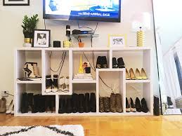 Bookcases Under 100 This Is How I Store 100 Pairs Of Shoes In My Nyc Apartment Aol Shop