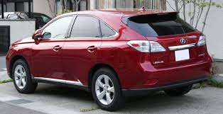 which lexus models have front wheel drive lexus rx wikipedia