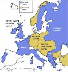 Europe After Ww1 Map by History Help 3rd Year Europe After World War I