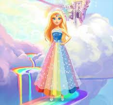 barbie movies images dreamtopia barbie rainbow princess