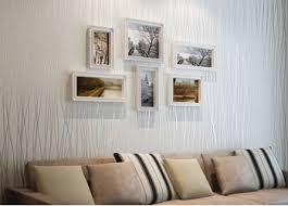 Wallpaper For Bedroom Walls Buy Great Wall Flocking Simple Stripes Wallpaper Bedroom Living