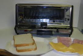 How To Make Grilled Cheese In A Toaster Oven 2 Minute Toaster Oven Grilled Ham And Cheese Sandwich 5 Steps