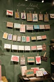 cards on clothes line i like this idea in a store 1 number the