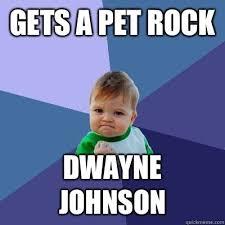 Dwayne Johnson Car Meme - nice dwayne johnson car meme gets a pet rock dwayne johnson