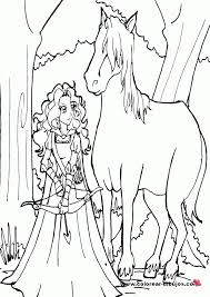horse brave coloring coloring