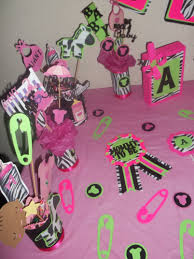 Baby Shower Decor Ideas by Baby Shower Decoration Ideas For Theme Colors Pink Zebra Print