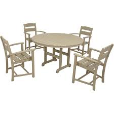 Tahoe 5 Piece Patio Dining Set - classics 5 piece dining set by ivy terrace