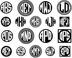 initial fonts for monogram monogram fonts font o talk fonts101