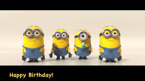 singing happy birthday minions sing happy birthday