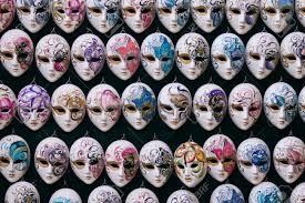 carnevale masks decorative miniature venetian carnival masks venice venezia