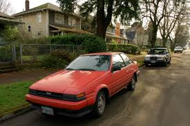 toyota old cars old parked cars 1986 toyota corolla gt s