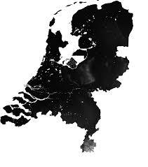 netherlands height map branigan
