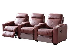reclining sofa loveseat and chair modern recliner sets leather