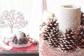Pine Cone Wedding Table Decorations 25 Breathtaking Christmas Wedding Ideas Wedding Photo Blog