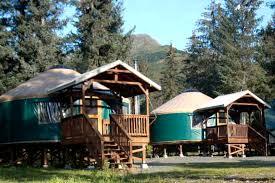 luxury camping near near the kenai fjords glamping in alaska