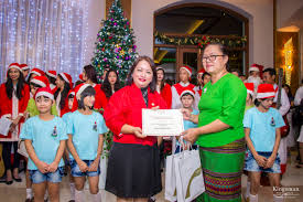 chatrium hotel royal lake yangon celebrates its tree