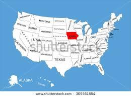 map usa iowa iowa state usa vector map isolated stock vector 309561854