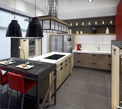cuisine bois flotté une cuisine en bois très design inspiration cuisine le