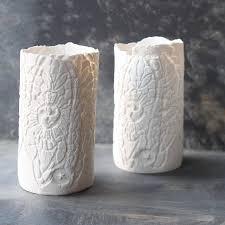 porcelain tea light holder by sarah jones morris ceramics