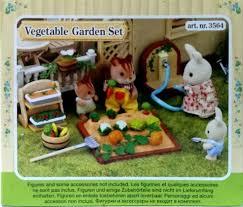 Sylvanian Families Garden - sylvanian families vegetable garden set kidzstuffonline