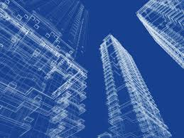 plain architecture design blueprint urban vector architectural