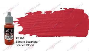 Vallejo Game Color Wash - game color colour 72106 scarlett blood