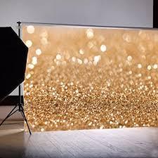 Wedding Backdrop Amazon Amazon Com 7x5ft Gold Glitter Sequin Spot Backdrop New Vinyl