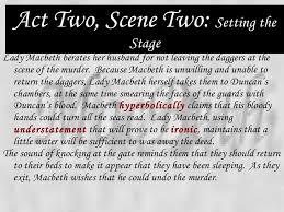 themes of macbeth act 2 scene 1 macbeth power point