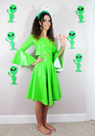 Halloween Alien Costume 26 Alien Dress Party Images Space Costumes