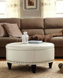 ottomans cube ottoman table fabric storage wicker grey footrest