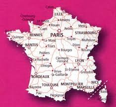 Toulouse France Map by 901 France 2014 Scale 1 1 000 000
