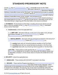 installment promissory note template free free promissory note template adobe pdf microsoft word