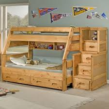 Double Deck Bed Designs With Drawer Trendwood Sedona Twin High Sierra Bunk Bed Dunk U0026 Bright