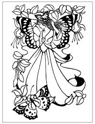 fairy coloring pages adults coloring pages adventures