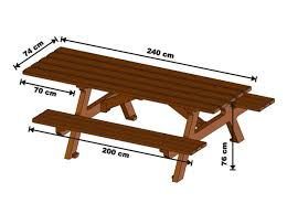 Folding Wood Picnic Table Diy Folding Wooden Picnic Table
