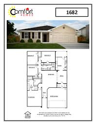 floor plans comfort homes