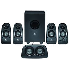 lg blu ray disc home theater logitech z506 5 1 surround sound speakers 6 piece black 980