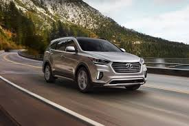 hyundai luxury suv 2018 hyundai santa fe suv pricing for sale edmunds