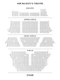 her majesty u0027s theatre seating plan londontheatre co uk