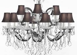 Types Of Chandelier Black Chandelier Lamp Shades Cocorich Org