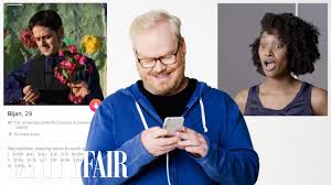 Seeking Tinder Episode Jim Gaffigan Swipes Right On Episode Of Tinder Takeover Axs