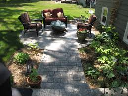 Average Price For Stamped Concrete Patio by Stamped Concrete Patio Vs Pavers U2014 Home Design Lover Best