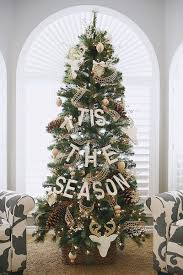Christmas Tree Decorations Ideas And by Simple And Natural Christmas Tree Decorating Ideas For 2015