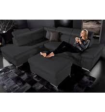 sofa mit ottomane polsterecke mit ottomane sit more wahlweise mit bettfunktion