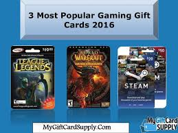 best online gift cards these are the most popular gaming gift cards fo 2016 steam gift